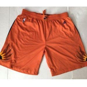 Adidas Phoenix Suns Orange Stitched Shorts XXXL